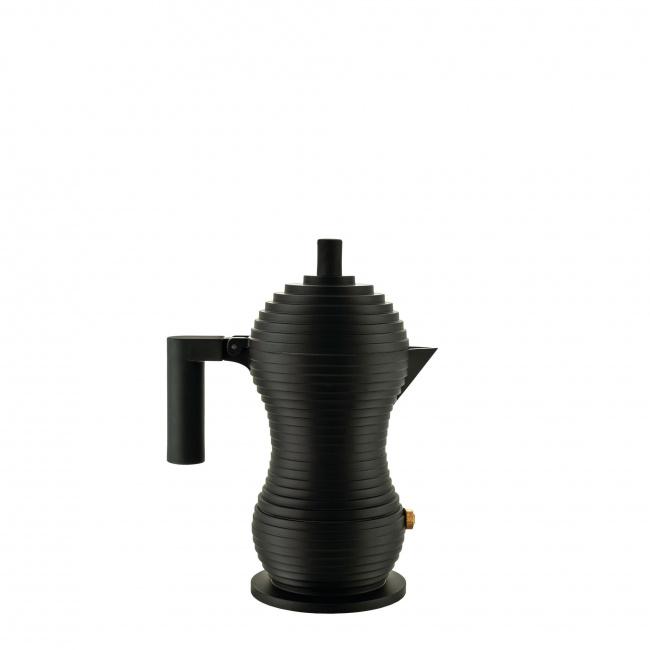 Kawiarka ciśnieniowa aluminiowa Pulcina 1-filiż. czarna