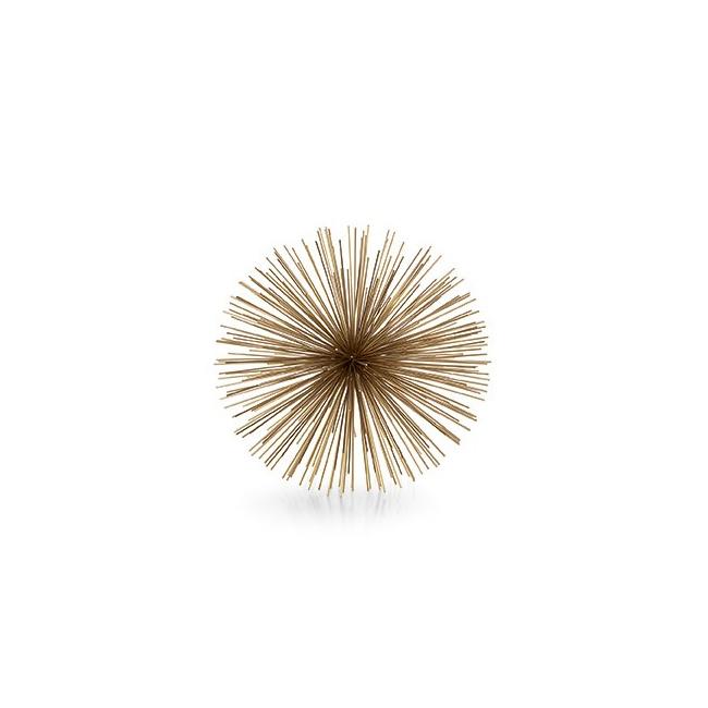 Gwiazda dekoracyjna Riccio 31cm złota