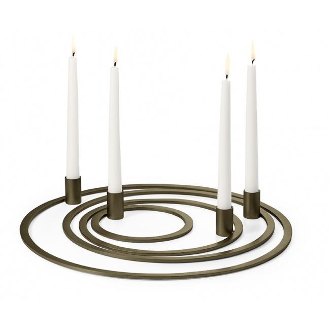 Świecznik Four Rings 40cm