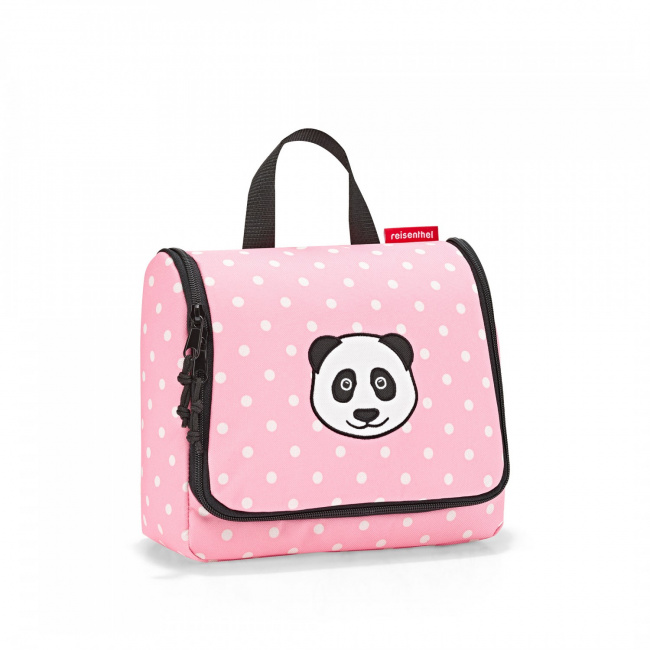 Kosmetyczka Toiletbag 3l kids panda kropki