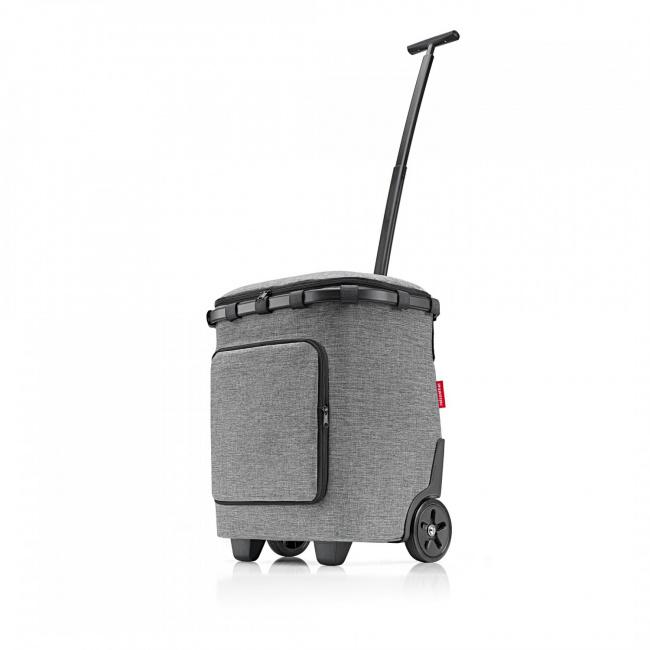 Wózek Carrycruiser plus frame 46l srebrny