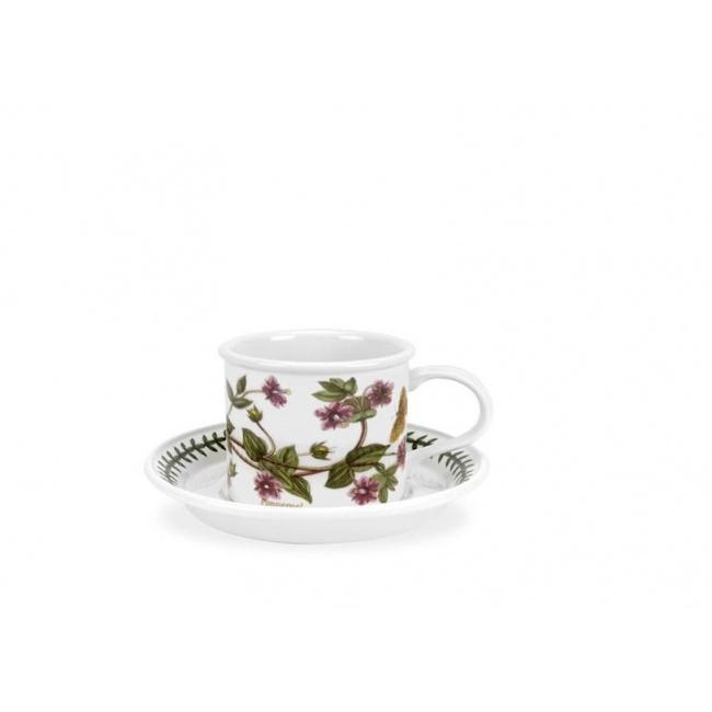 Filiżanka ze spodkiem Botanic Garden 100ml Pimpernel do espresso