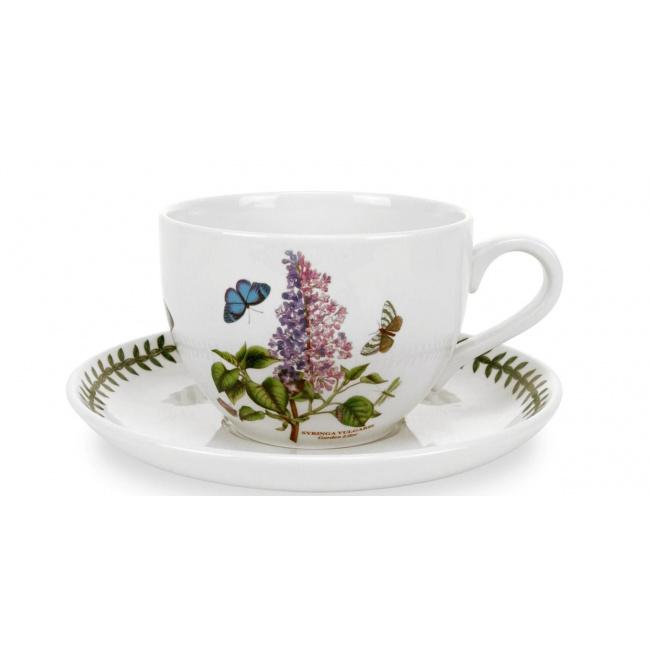 Filiżanka ze spodkiem Botanic Garden 500ml Garden Lilac