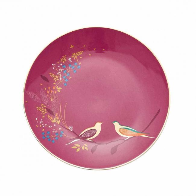 Talerz śniadaniowy Chelsea Sara Miller 20cm Pink