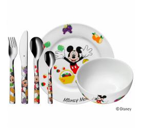 Zestaw naczyń dla dziecka Myszka Miki 6 elementów