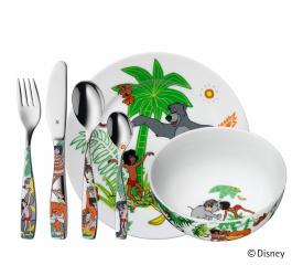 Zestaw naczyń dla dziecka Księga Dżungli 6 elementów