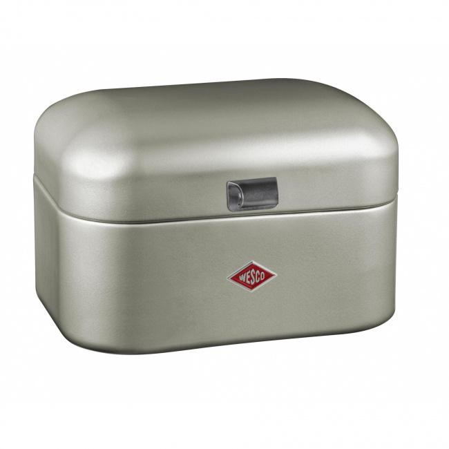 Chlebak Mini Grandy 28cm srebrny
