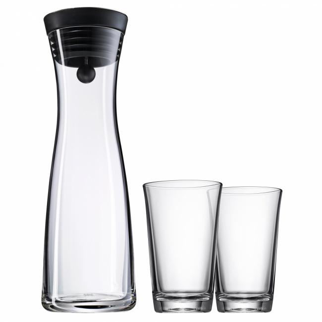 Karafka Basic 1l + 2 szklanki