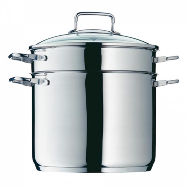 Garnek 7l + wkład do gotowania makaronu