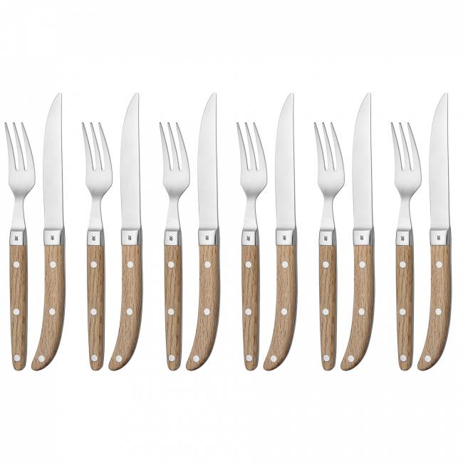 Zestaw sztućców 12 elementów (6 osób) do steków