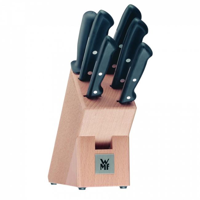 Zestaw 5 noży w bloku Classic Line + ostrzałka