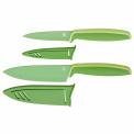 Zestaw 2 noży Touch 20,5+24cm zielone