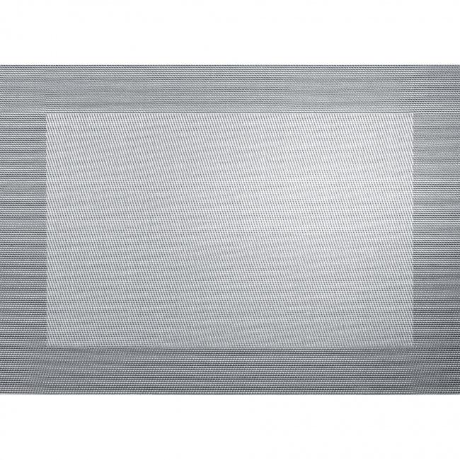 Podkładka PCV colour33x46cm srebrna