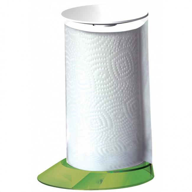 Stojak Glamour na ręcznik papierowy zielony