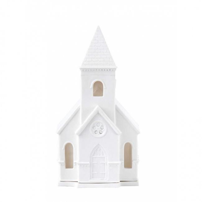 Świecznik kościół 21x16cm