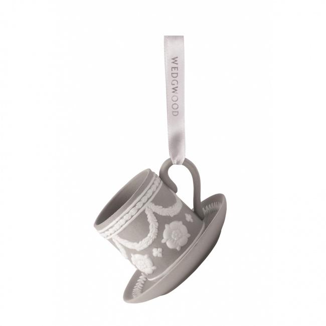 Zawieszka filiżanka Grey 8cm