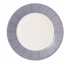 Talerz Pacific 23,5cm śniadaniowy kropki