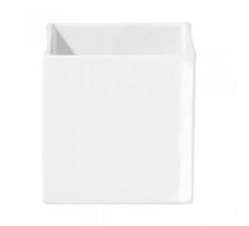 Osłonka Quadro 8cm biała