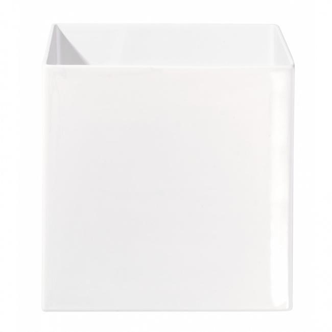 Osłonka Quadro 28cm biała