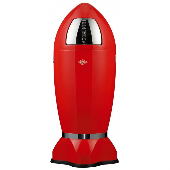 Kosz na odpady Spaceboy 35l czerwony