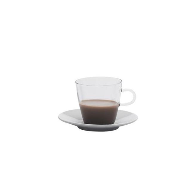 Filiżanka ze spodkiem Costa 250ml do kawy
