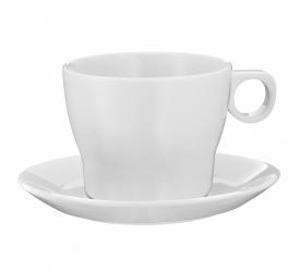 Filiżanka ze spodkiem Barista 225ml do kawy/herbaty