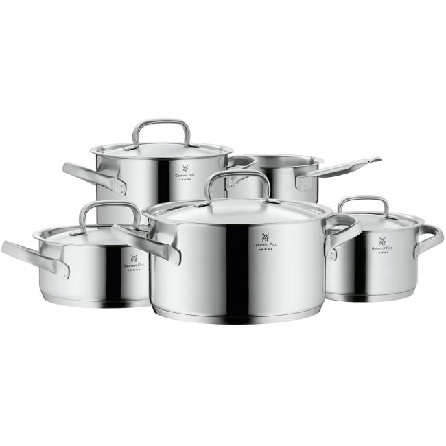 Zestaw garnków Gourmet Plus 9-elementów