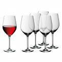 Komplet 6 kieliszków Easy Plus 630ml do czerwonego wina