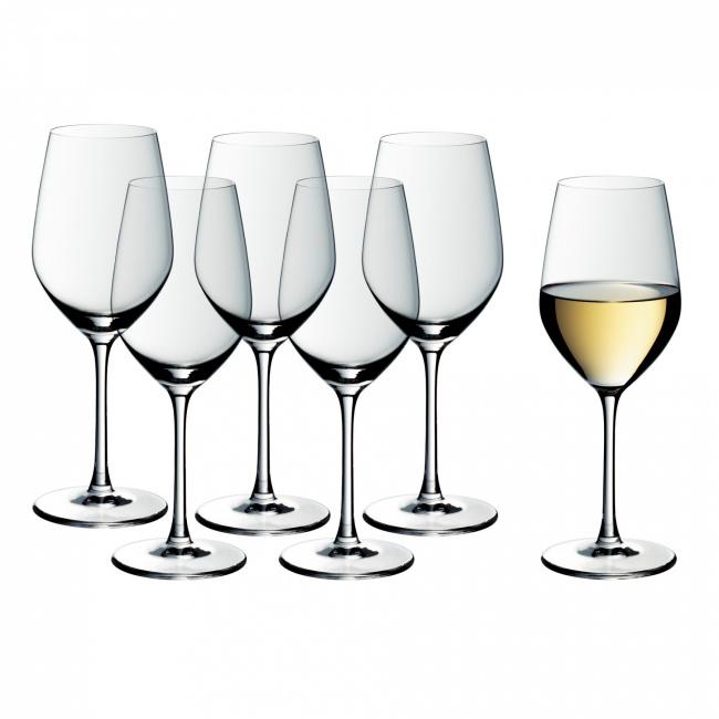 Komplet 6 kieliszków Easy Plus 390ml do białego wina