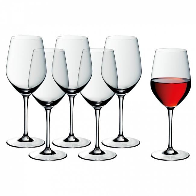 Komplet 6 kieliszków Easy Plus 450ml do czerwonego wina