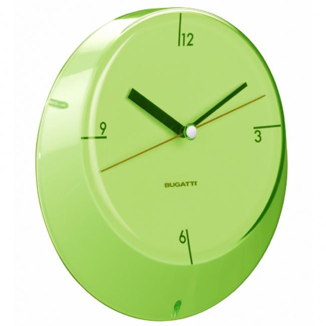 Zegar Glamour 33cm zielony