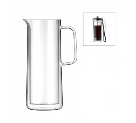 Zapasowe szkło do french press CoffeeTime 750ml