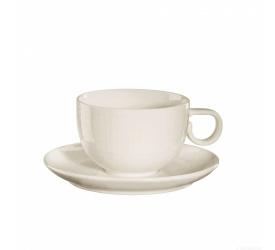 Filiżanka ze spodkiem Voyage Vanilla 200ml do kawy/herbaty