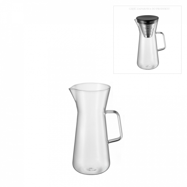 Zapasowe szkło do dzbanka CoffeeTime 900ml