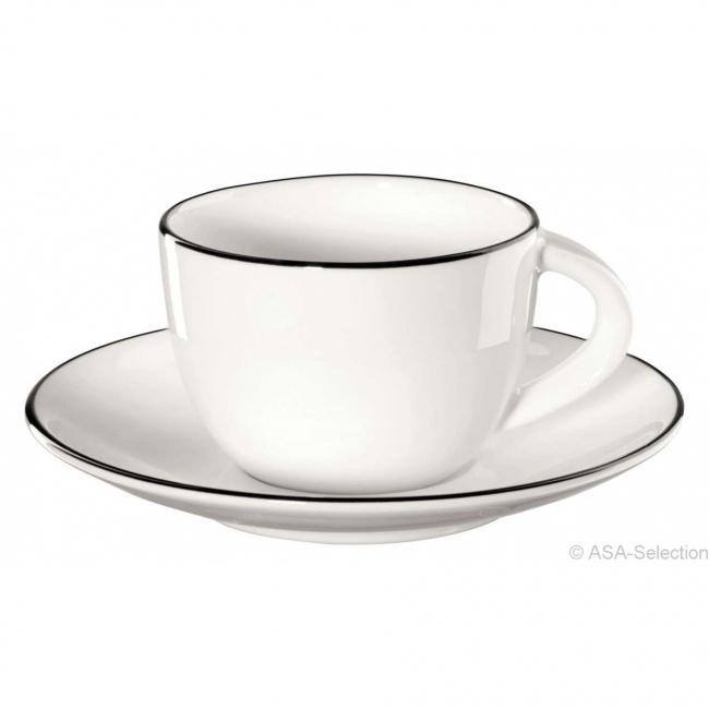 Filiżanka ze spodkiem a'Table Ligne 70ml do espresso