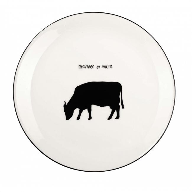 Talerz a'Table 21cm do serwowania sera Krowa