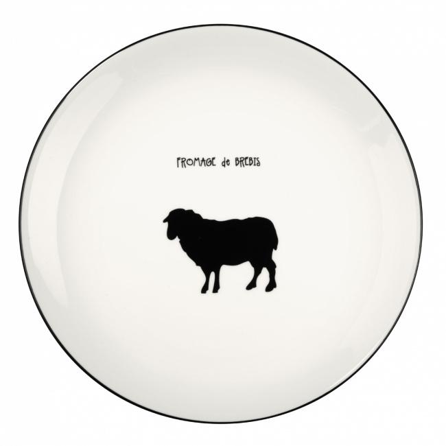 Talerz a'Table 21cm do serwowania sera Owca
