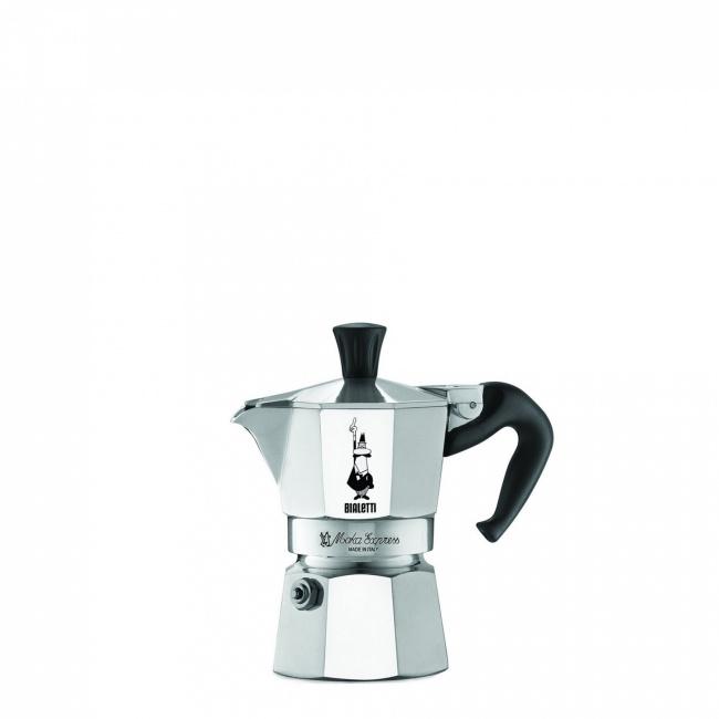 Kawiarka ciśnieniowa aluminiowa Moka Express 1-filiż.