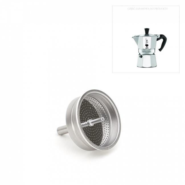 Lejek do kawiarek aluminiowych 3-filiż.