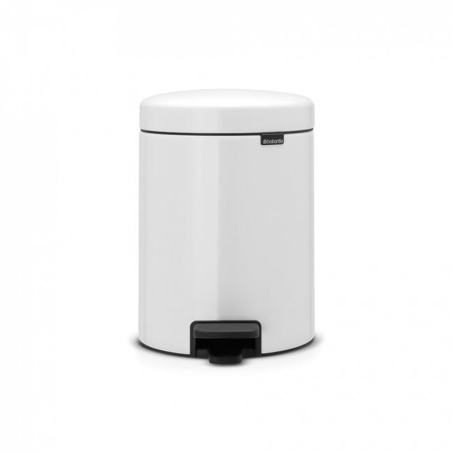 Kosz na odpady NewIcon 5l biały