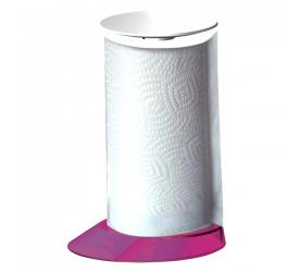 Stojak na ręcznik papierowy Glamour fioletowy