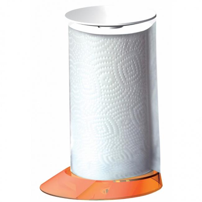 Stojak Glamour na ręcznik papierowy pomarańczowy