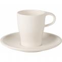 Filiżanka ze spodkiem Coffee Passion 180ml do podwójnego espresso