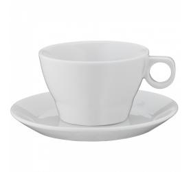 Filiżanka ze spodkiem Barista 150ml do kawy/herbaty