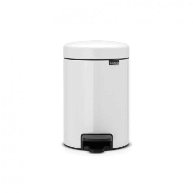 Kosz na odpady NewIcon 3l biały