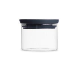 Pojemnik szklany 350ml szary