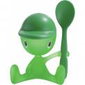 Kieliszek na jajko dla dziecka Cico ciemnozielony