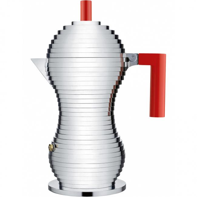 Kawiarka ciśnieniowa aluminiowa Pulcina 6-filiż. (indukcja)