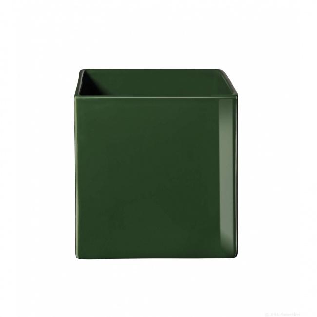 Osłonka Quadro 8cm zielona