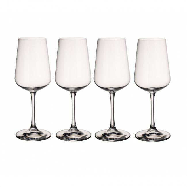 Komplet 4 kieliszków Ovid 380ml do wina białego